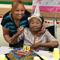 Americas Birthday at adult day care