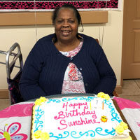Sunshine Birthday at adult day care